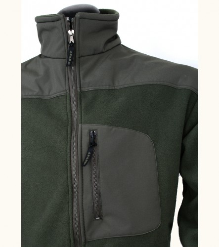 Bunda Afars Fleece Softshell